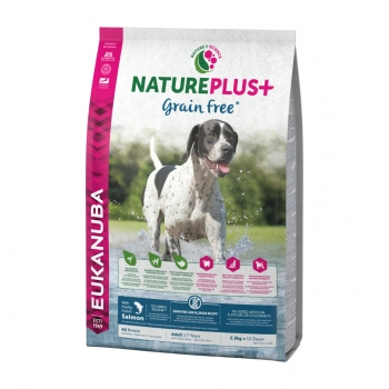 EUKANUBA Grain Free Adult S-XL, Somon, hran? uscat? câini, 2.3kg