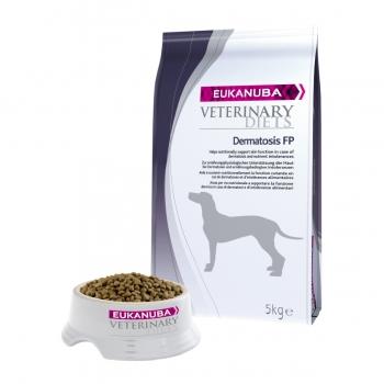 EUKANUBA Veterinary Diets Dermatosis, Pește cu Cartofi, dietă veterinară câini, pachet economic hrană uscată, afecțiuni dermatologice, 12kg x 2
