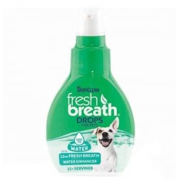 Fresh Breath Drops TropiClean For Pets, 65 Ml imagine