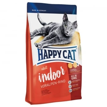 Happy Cat Adult Indoor, Vita de Pasune, 10 kg