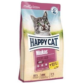 Happy Cat Minkas Sterilised, 10 kg imagine