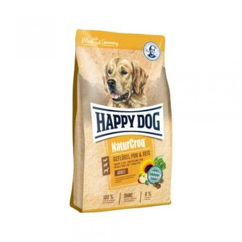 Happy Dog Natur Croq Pui si Orez, 12 kg imagine