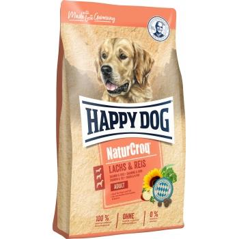 Happy Dog Natur Croq Somon si Orez, 12 kg imagine