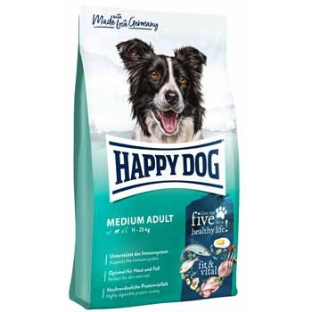 Happy Dog Supreme Fit&Vital Medium Adult, 4 kg imagine