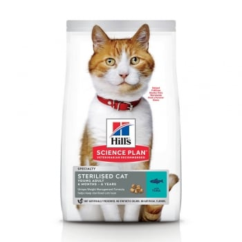 Hill's SP Feline Young Adult Sterilised Ton, 3 Kg