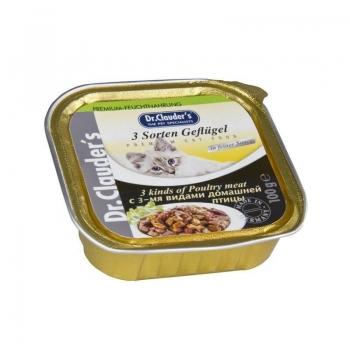 Dr. Clauders Cat Alucap Carne De Pui, 100 g imagine