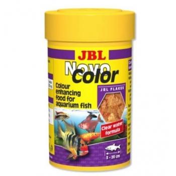 Hrana fulgi pentru toate speciile JBL NovoColor 100 ml imagine