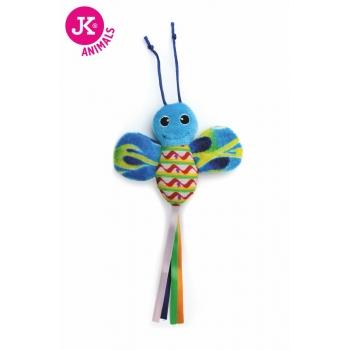 Jk Animals Jucarie Pisica Fluture Fosnitor 28 cm imagine