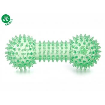 Jk Animals Jucarie Caine Gantera cu Tepi TPR Verde 15 cm imagine