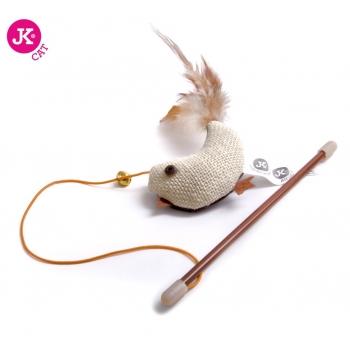 Jk Animals Jucarie Pisica Pasare cu Iarba Pisicii 18 cm