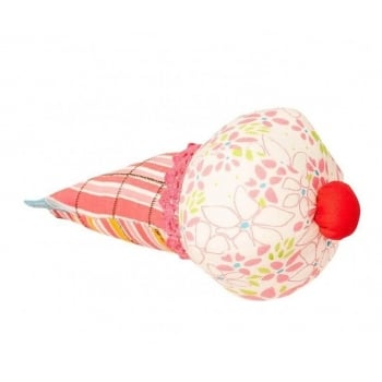 Jucarie Textila U-Grow Icecream, 20 x 8 cm