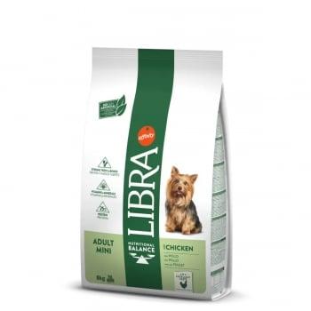 LIBRA Dog Mini Adult, Pui, hran? uscat? câini, 8kg