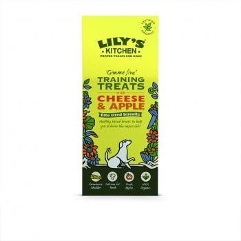 Lily's Kitchen Caine Recompense Organice cu Branza si Mere, 100 g imagine