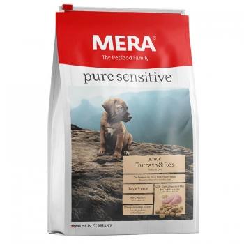 Mera Dog Pure Junior Curcan&Orez, 12.5 Kg imagine