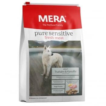 Mera Pure Fresh Meat Adult Curcan&Cartof, 12.5 Kg imagine