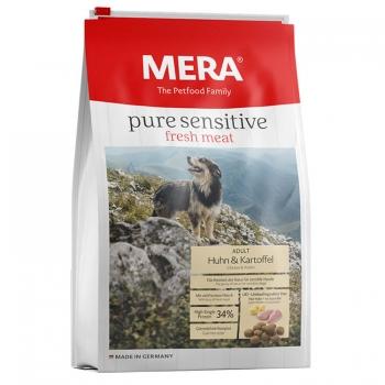Mera Pure Fresh Meat Adult Pui&Cartof, 12.5 Kg imagine