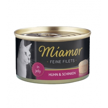 Miamor Filet Cat Pui cu Sunca 100g imagine