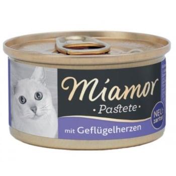 Miamor Pate Cat Inima Pui 85g imagine