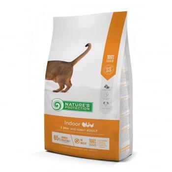 NATURES PROTECTION Indoor, Pasăre, hrană uscată pisici, 7kg