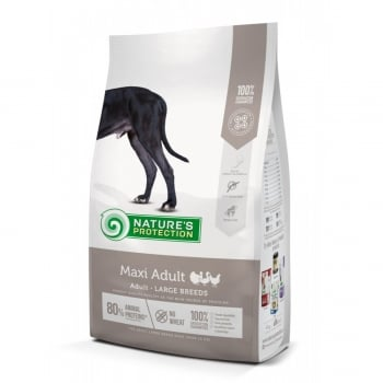 NATURES PROTECTION Maxi Adult, Pasăre, hrană uscată câini, 12kg