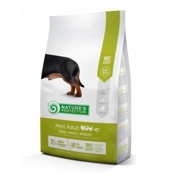 NATURES PROTECTION Mini Adult, Pasăre, pachet economic hrană uscată câini, 7.5kg x 2