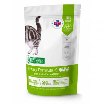 NATURES PROTECTION Urinary Health, Pui și Cod, pachet economic hrană umedă fără cereale pisici, sensibilități urinare, 100g x 22