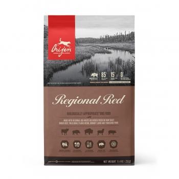 ORIJEN Regional Red, pachet economic hrană uscată fără cereale câini, 11.4kg x 2