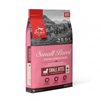 ORIJEN Small Breed, hrană uscată fără cereale câini, 4.5kg