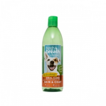 Aditiv Apa TropiClean Oral Care Skin & Coat, 473 ml imagine