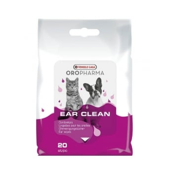 Versele Laga Oropharma Ear Clean Servetele Umede Caini si Pisici, 20 bucati imagine