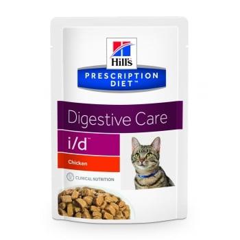 Hill's PD Feline i/d - Probleme Gastrointestinale Pui, 85 g
