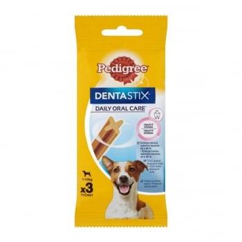 PEDIGREE DentaStix Daily Oral Care, recompense câini talie mică, batoane, 3buc