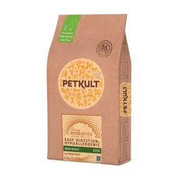 PETKULT Easy Digestion & Hypoallergenic Mini Adult 27/15, Rață, hrană uscată câini, 8kg