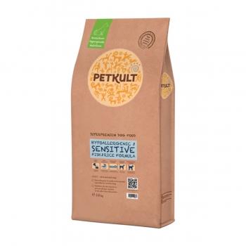 PETKULT Hypoallergenic & Sensitive, Peste şi Orez, pachet economic hrană uscată câini, 14kg x 2