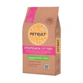 PETKULT Superpremium Gourmandise 32/15, Miel şi Pui, hrană uscată pisici, 7kg