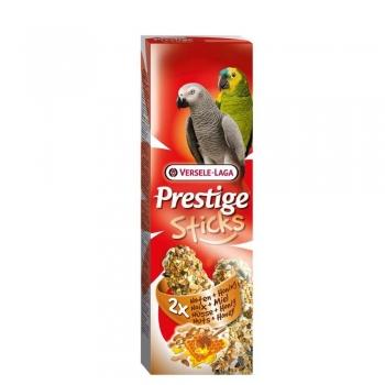 Sticks Papagali Versele Laga Prestige cu Miere si Nuci, 140 g