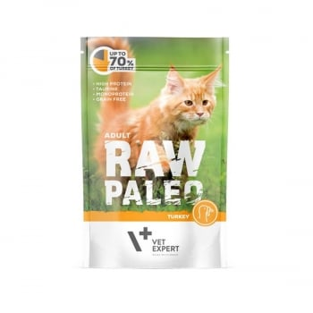Raw Paleo Adult Cat Curcan, 100 g