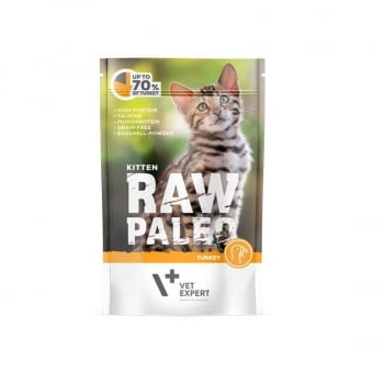 Raw Paleo Kitten Cat Curcan, 100 g