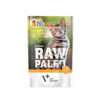 Raw Paleo Kitten Cat Curcan, 100 g imagine