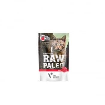 Raw Paleo Sterilised Cat Vita, 100 g imagine