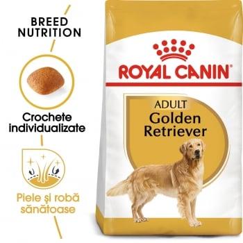 Royal Canin Golden Retriever Adult, hrană uscată câini, 12kg