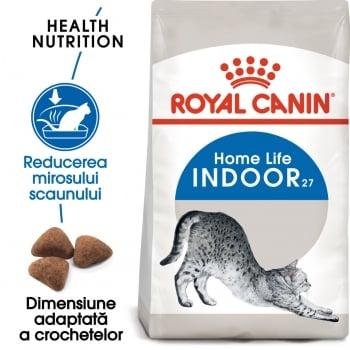 Royal Canin Indoor Adult, hrană uscată pisici de interior, 4kg