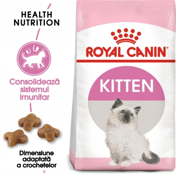 Royal Canin Kitten, pachet economic hrană uscată pisici junior, 10kg x 2 imagine