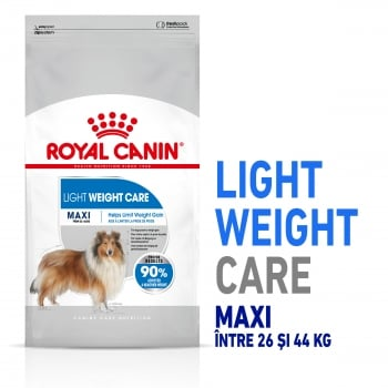 Royal Canin Maxi Light Weight Care Adult, hrană uscată câini, managementul greutății, 3kg