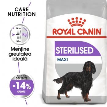Royal Canin Maxi Sterilised Adult, hrană uscată câini sterilizați, 9kg imagine