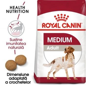 Royal Canin Medium Adult, hrană uscată câini, 4kg imagine