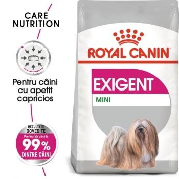 Royal Canin Mini Exigent, hrană uscată câini, apetit capricios, 1kg