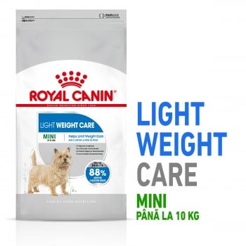 Royal Canin Mini Light Weight Care Adult, hrană uscată câini, managementul greutății, 8kg