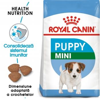 Royal Canin Mini Puppy, hrană uscată câini junior, 2kg