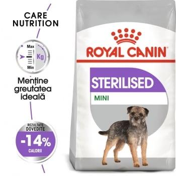 Royal Canin Mini Sterilised Adult, hrană uscată câini sterilizați, 3kg